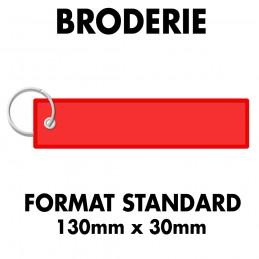 Flamme Brodée - Attache Œillet