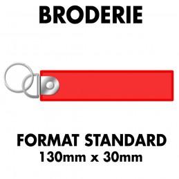 Flamme Brodée - Attache...